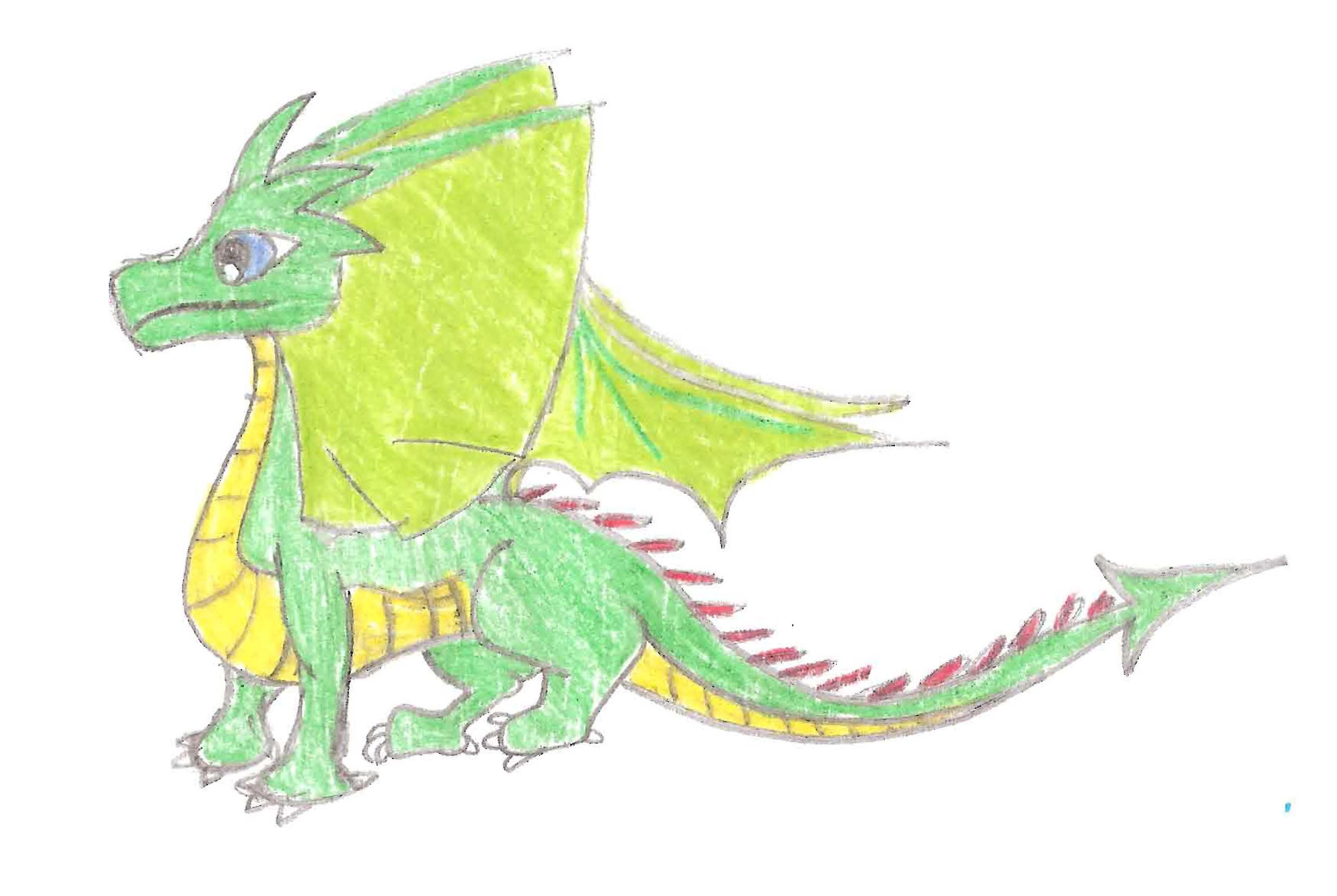 Dark Green Dragons Little Baby