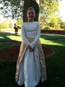 Meg's dress