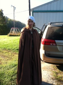 Bridget's cloak