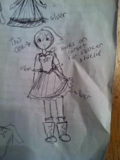 cap concept dress